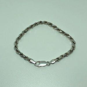 Jewelry - Italian Sterling Silver Byzantine Bracelet